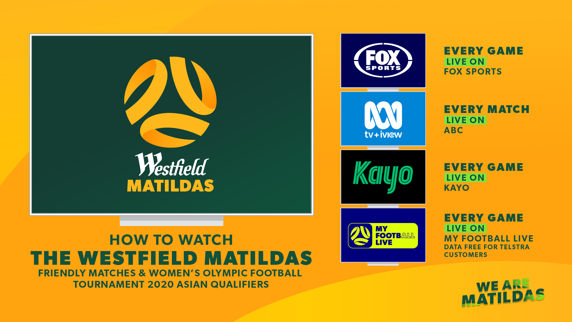 Matildas free to air