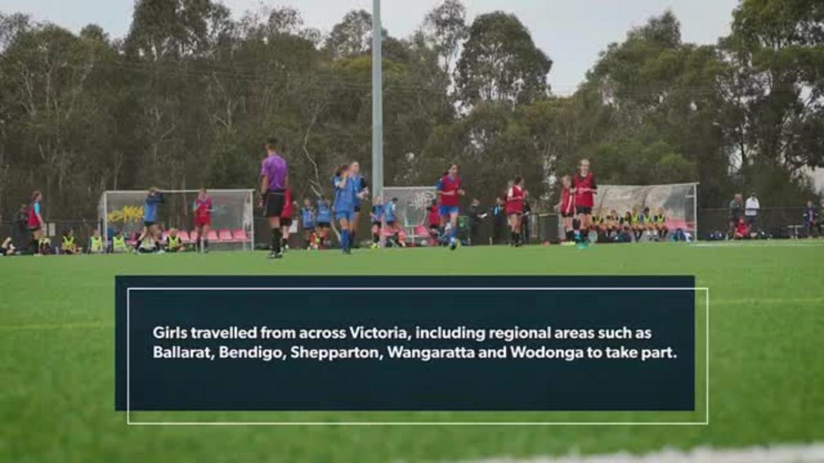 Football Victoria Girls Talent ID Camp draft 2