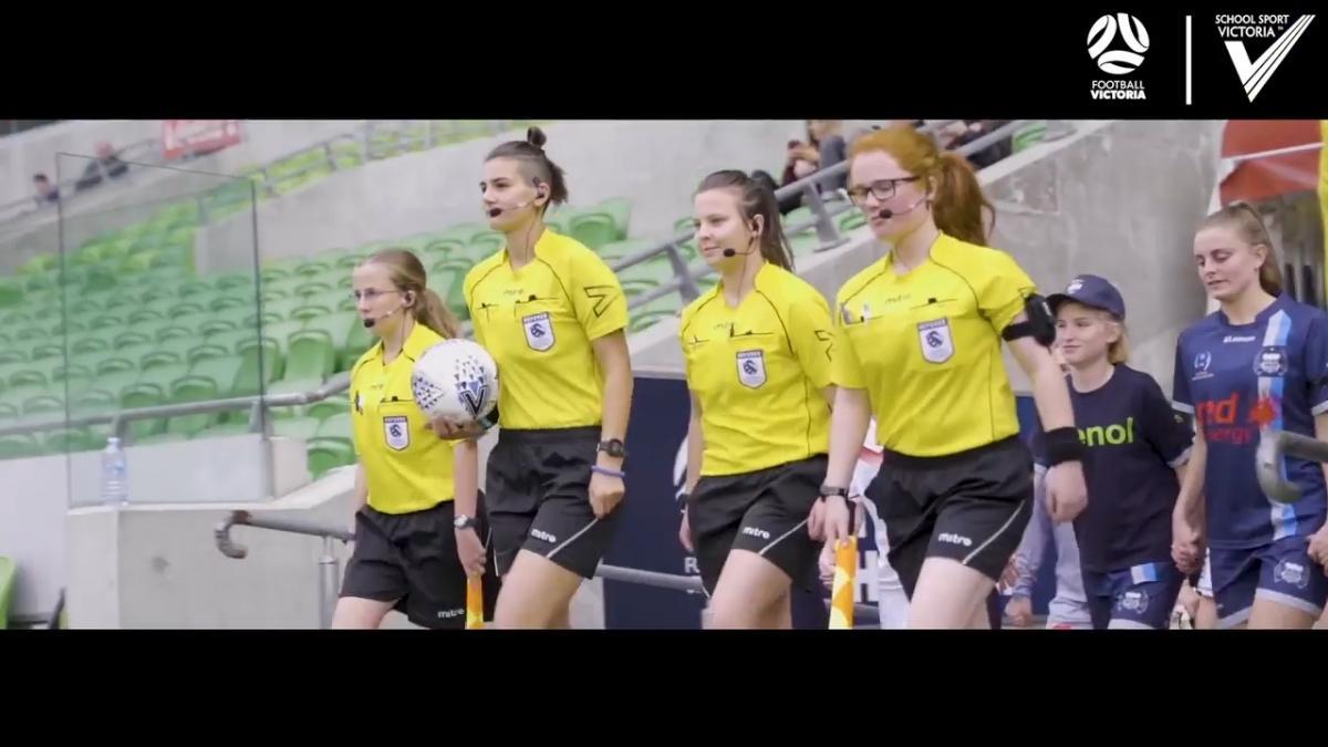 Football Victoria & School Sport Victoria: Referees Academy