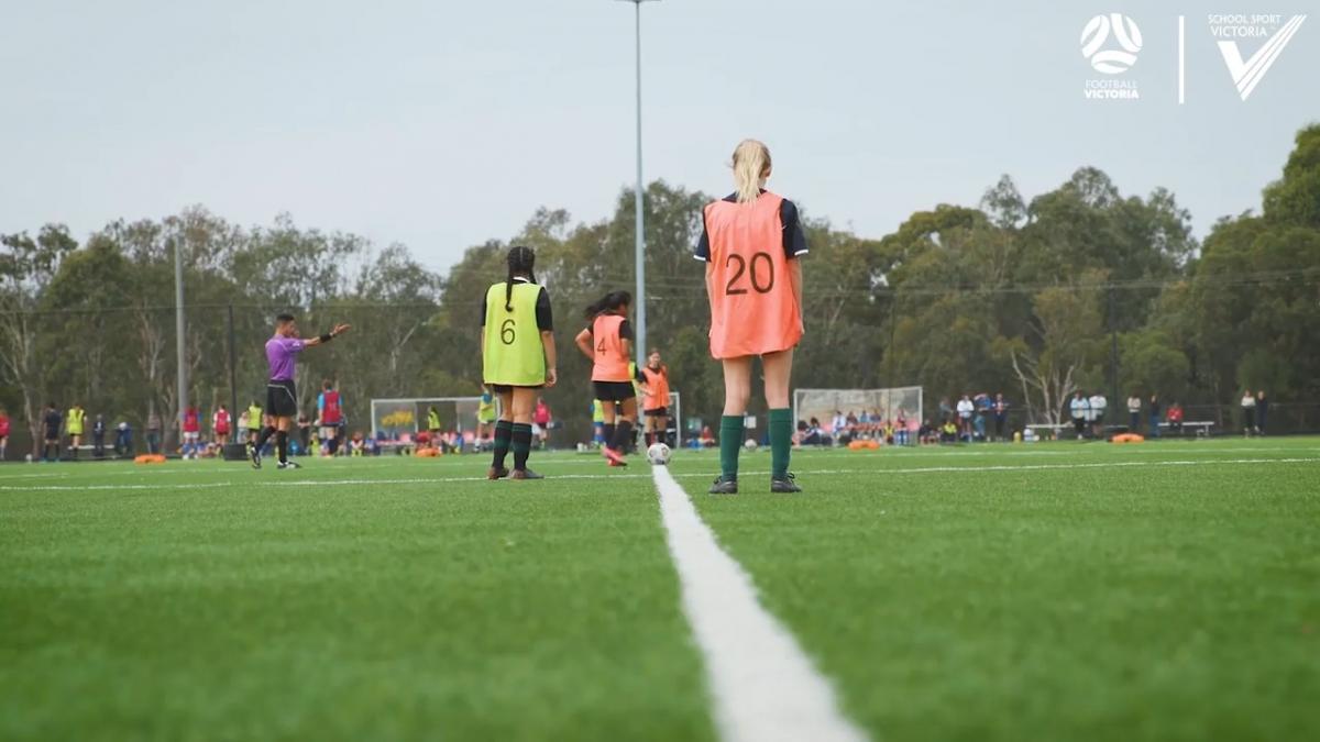 Football Victoria & School Sport Victoria: Female Football
