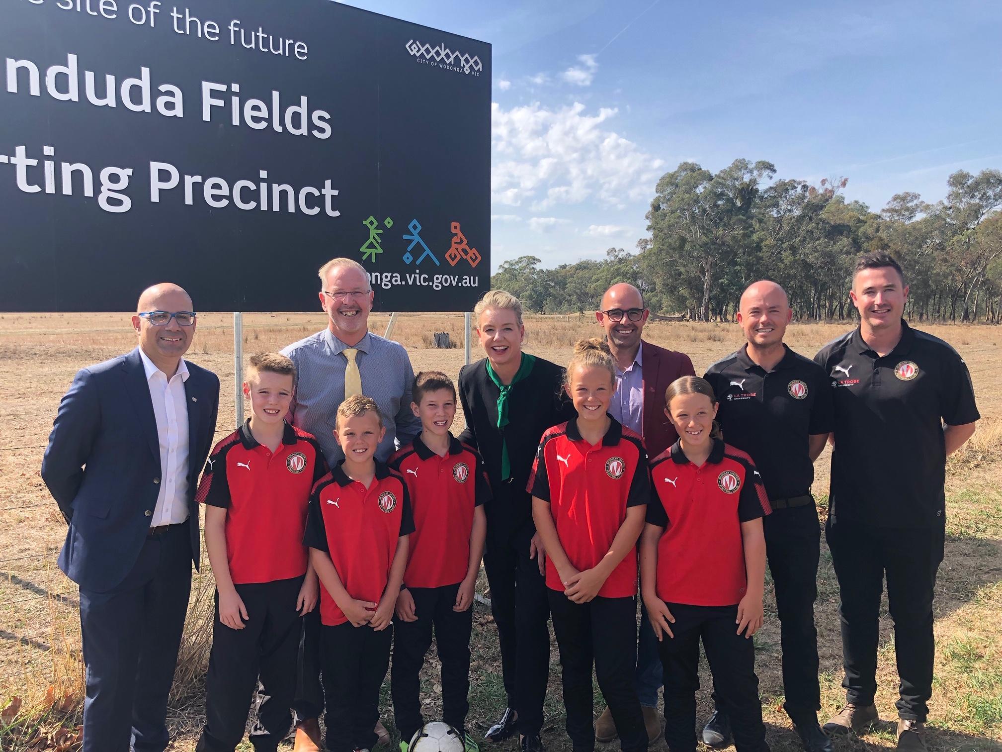Football Victoria celebrates $10 million Baranduda Fields development