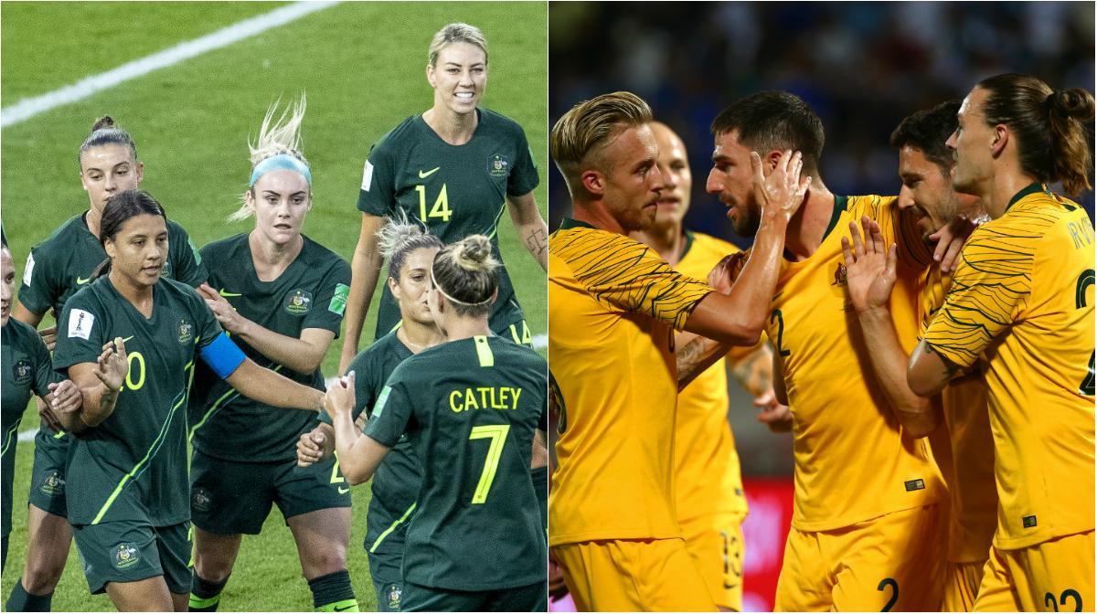 Matildas and Socceroos