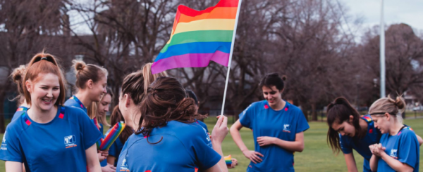 Melbourne University Women's Soccer Club host 'Pride in Sport Round'