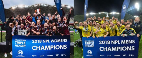 Heidelberg and Bulleen Champions of NPL Victoria