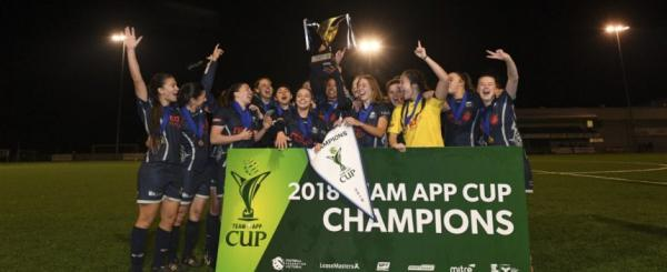Calder United Wins 2018 Team App Cup