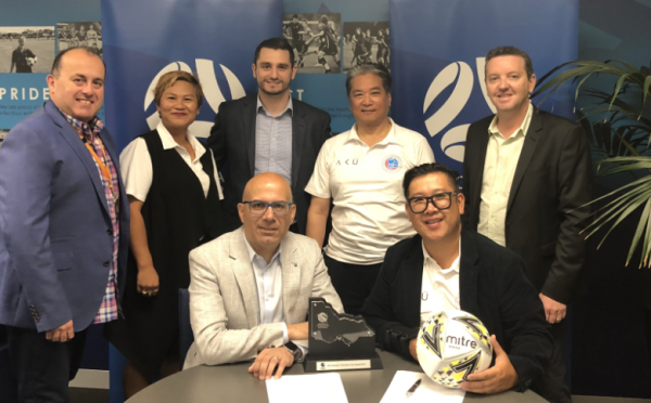 Football Victoria Signs MoU With Chinese Soccer Association