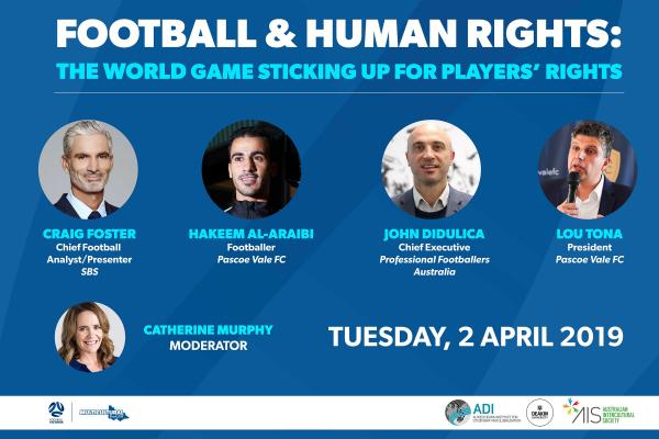 Football and Human Rights - Panel Discussion | Tuesday, April 2