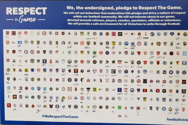 """Football Victoria launches """"Respect The Game"""" Campaign"""