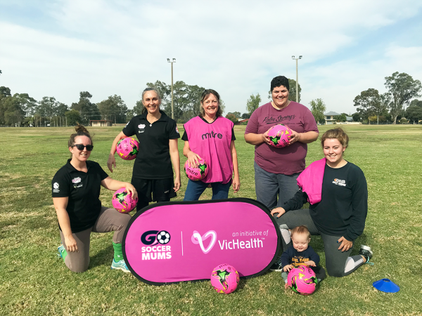 Go Soccer Mums: Connect & win for your team!