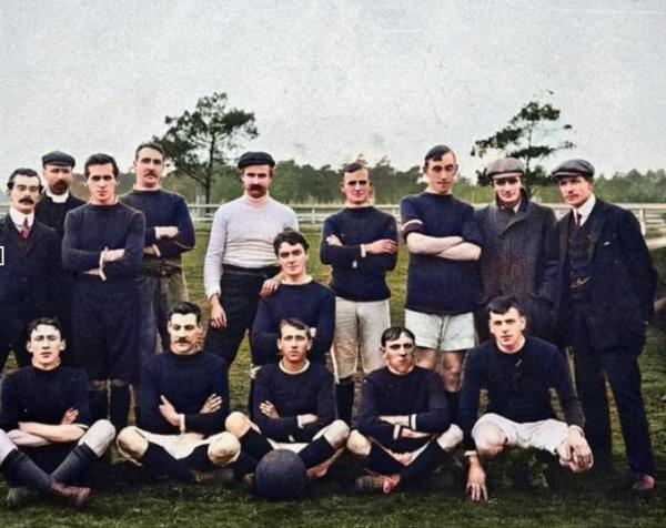 St Kilda Soccer Club Harry Dockerty 1909
