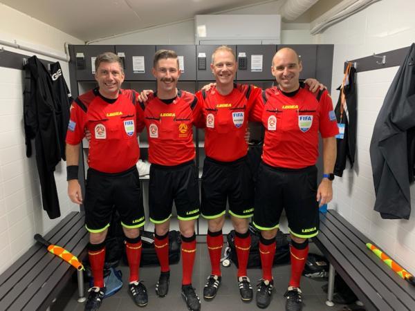 referee story