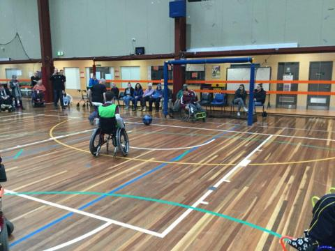 Wheelchair Football 2018